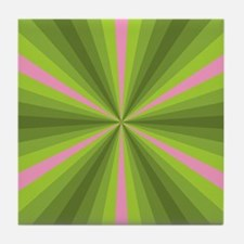 Spring Illusion Tile Coaster