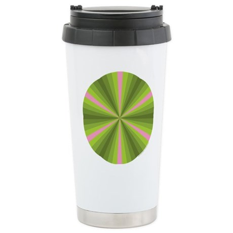 Spring Illusion Stainless Steel Travel Mug