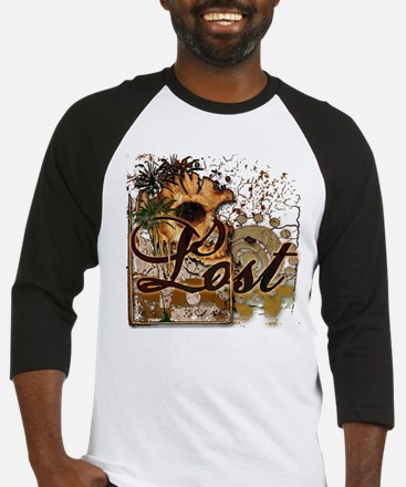 Lost Skull and Palms Baseball Jersey