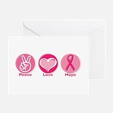 Peace Love Pk Hope Greeting Card