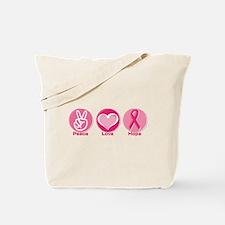 Peace Love Pk Hope Tote Bag