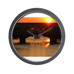 Sunset in Florence Wall Clock