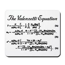 Valenzetti Equation Mousepad