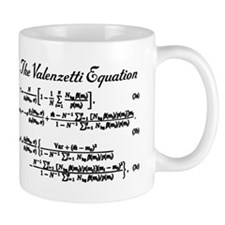 Valenzetti Equation Small Mug