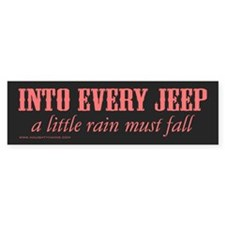 4x4 Convertible Bumper Sticker