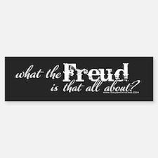 Freud Bumper Bumper Bumper Sticker