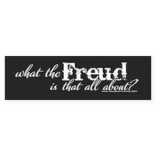 Freud Bumper Bumper Sticker