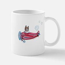 Valentine Airplane (Pied) Mug
