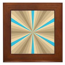 Summer Illusion Framed Tile