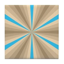 Summer Illusion Tile Coaster