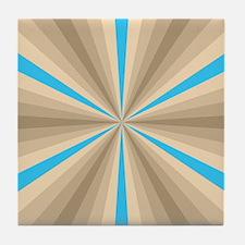 Summer Illusion Tile Coaster