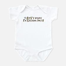 Dats What I'm Talking Saints Infant Bodysuit