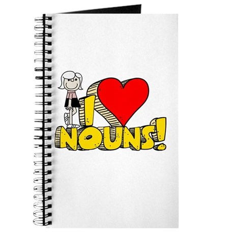 I Heart Nouns - Schoolhouse Rock! Journal
