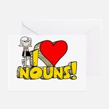 I Heart Nouns - Schoolhouse Rock! Greeting Cards (