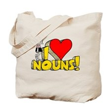 I Heart Nouns - Schoolhouse Rock! Tote Bag