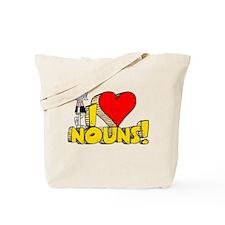 I Heart Nouns - Schoolhouse Rock! Tote Bag