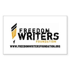 Freedom Writers Foundation Decal