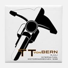 TT Von Bern Motorcycle Tile Coaster