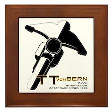 TT Von Bern Motorcycle Framed Tile