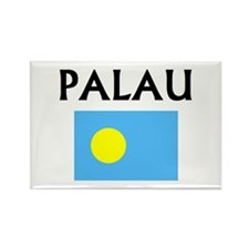 Cute Palau Rectangle Magnet