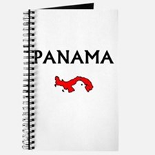 Cute Panama flag Journal