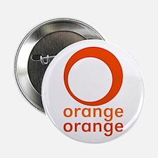 """orange orange 2.25"""" Button"""