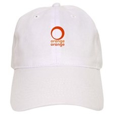 orange orange Baseball Cap