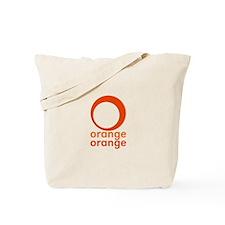 orange orange Tote Bag