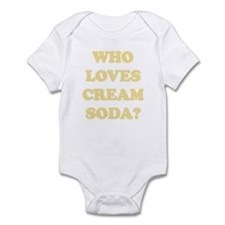 Who Loves Cream Soda? Infant Bodysuit