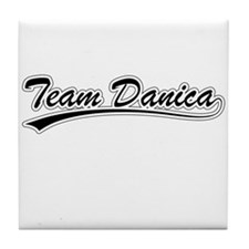 Cute Danica patrick Tile Coaster