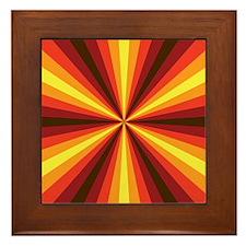 Fall Illusion Framed Tile