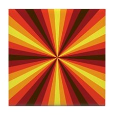 Fall Illusion Tile Coaster