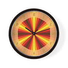 Fall Illusion Wall Clock
