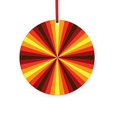 Fall Illusion Ornament (Round)