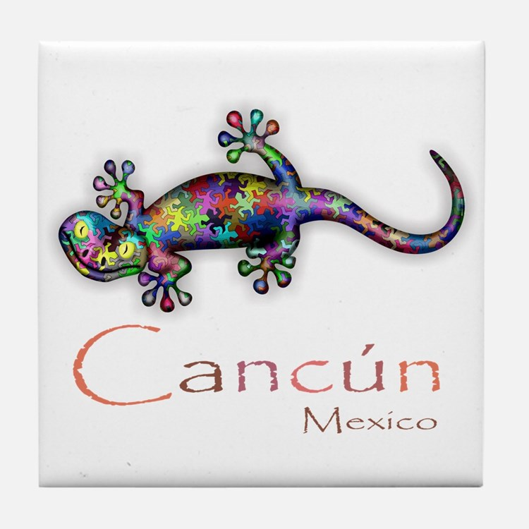 Cute Cancun Tile Coaster