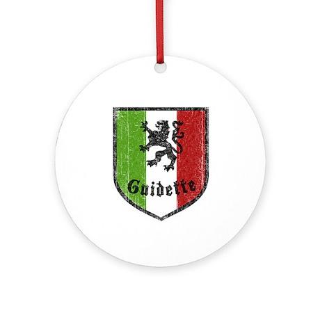 Guidette Ornament (Round)