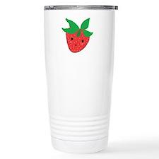 Strawberry Friend Travel Mug