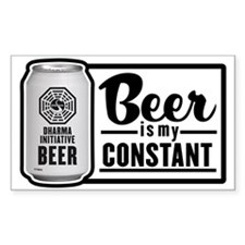 Beer Is My Constant Decal