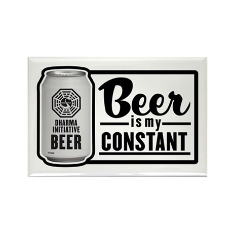 Beer Is My Constant Rectangle Magnet (100 pack)