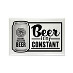 Beer Is My Constant Refrigerator Magnet