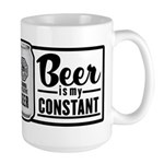 Beer Is My Constant Large Mug