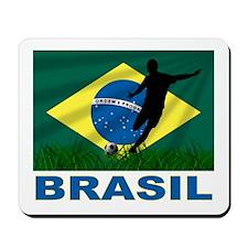 Brazilian World cup soccer Mousepad