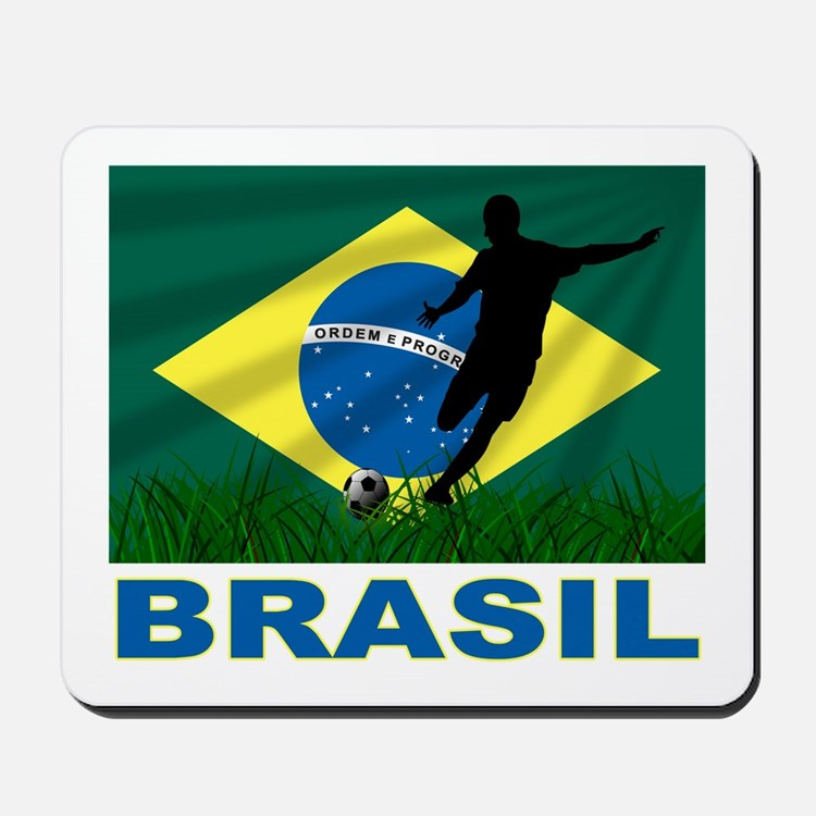 Brazilian World cup soccer Mousepad
