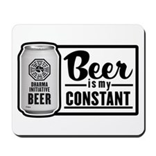 Beer Is My Constant Mousepad