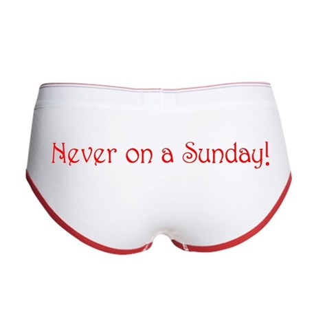 Never on a Sunday Women's Boy Brief