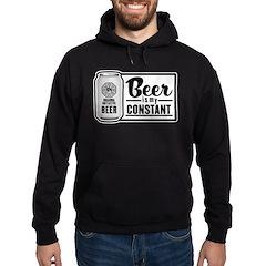 Beer Is My Constant Hoodie (dark)