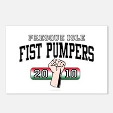 Presque Isle Fist Pumpers Postcards (Package of 8)
