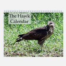 The Hawk Wall Calendar