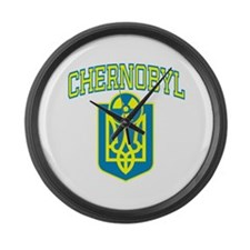 Chernobyl English Large Wall Clock