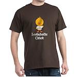 I Heart Sawyer Chick Dark T-Shirt